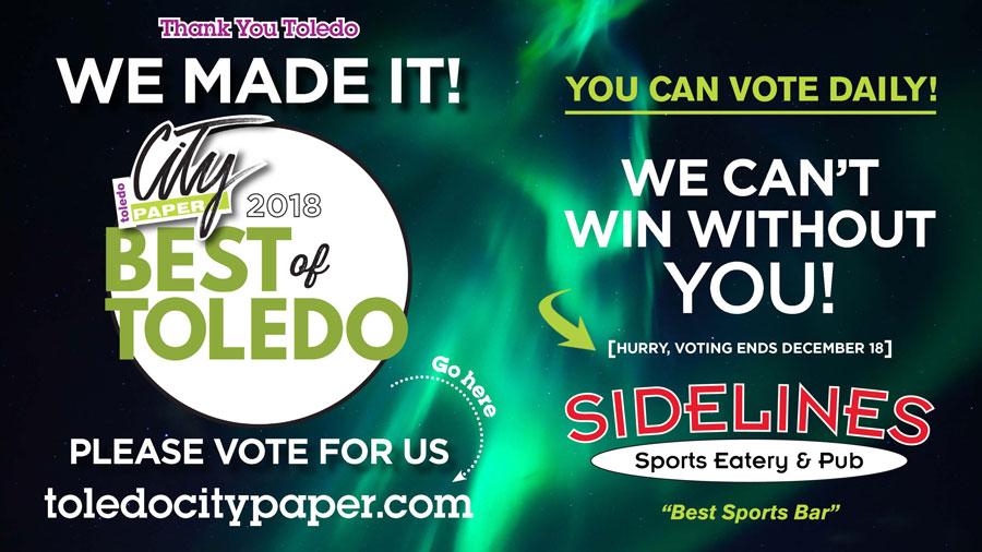 Best of Toledo Voting